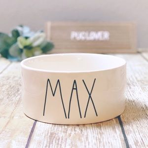 RAE DUNN dog bowl { MAX }